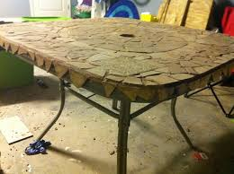 outdoor table top replacement wood 14 best diy replace broken patio glass top table images on pinterest