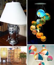 Recycled Light Fixtures Bright Ideas 41 Bold Beautiful Bizarre Recycled Lamps Urbanist