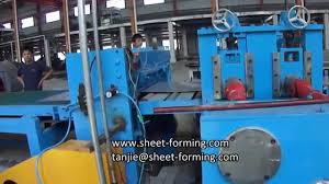 steel coil levelling u0026 cut to length line youtube