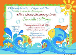 fishing themed baby shower reef baby shower invitation fish summer waves