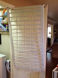 Drying Racks For Laundry Room - make an old crib into a drying rack hometalk