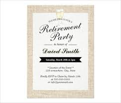 retirement announcement simple and fancy black and white retirement party invitation