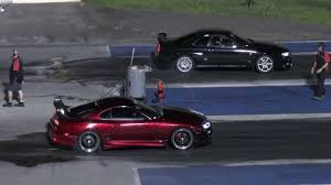 nissan altima coupe quarter mile toyota supra vs nissan skyline 1 4 mile drag race youtube
