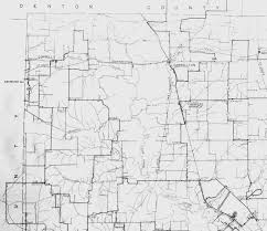 Map Of Dallas Texas Rural Delivery Route Map Of Northwest Dallas County Texas Circa 1924
