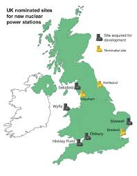 Map Of World Nuclear Power Plants uk new build plans for nuclear power plants nuclear power plant