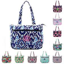 personalized quilted tote purses gifts happen here