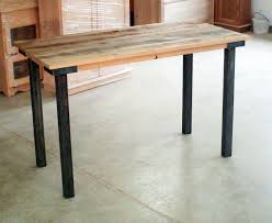 Narrow Dining Tables by Furniture Rustic Wood Long Small Dining Table With Black Stained