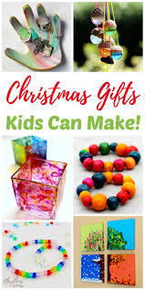 unique handmade gifts kids can make homemade crafts christmas