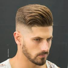 hairstyles cool pompadour haircut for men side view fresh cool