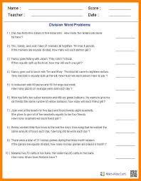 6 grade 4 maths word problems formatting letter