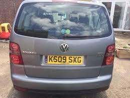 2009 manual vw touran tdi bluemotion 7 seater in heathrow