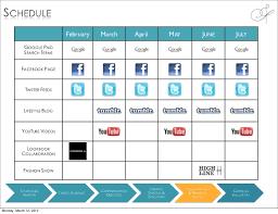 social media communication plan template 28 images social