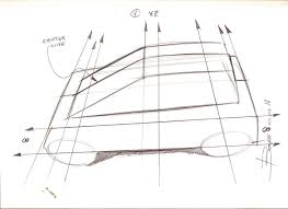 how to draw a car in perspective from top view perspective cars