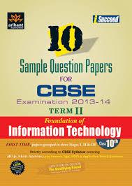 cbse foundation of information technology examination 2013 14