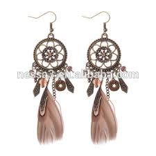 one side feather earring fashion one side feather earring wholesale nsdw 0003 buy one