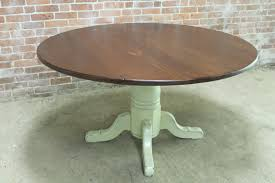54 Inch Round Dining Table With Leaf Round Farmhouse Tables