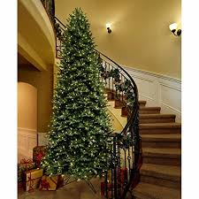 ge 12 ft artificial aspen fir pre lit led easy light technology