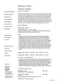 doc 8201076 secondary teacher resume example sample resumes