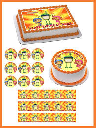 team umizoomi cake topper team umizoomi edible cake and cupcake topper edible prints on