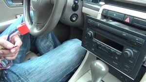 audi a4 2004 radio gta car kits audi a4 2002 2005 install of iphone ipod and aux