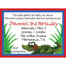 alligator birthday invitation alligator invitations crocodile