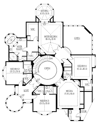 home plans homepw05058 5 250 square feet 4 bedroom 4 bathroom