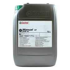 castrol manual ep 80w 90 mineral gearbox oil opie commercial oils