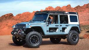 navy blue jeep jeep brings 7 outrageous concepts to 51st annual moab easter jeep