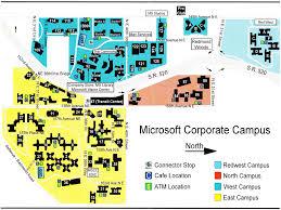 Redmond Washington Map by Microsoft Campus Map My Blog
