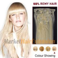 hair extension canada 16 white 60 7pcs clip in indian remy hair extensions