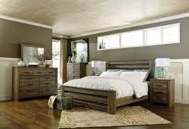 light grey bedroom with wood furniture checkinbocas com