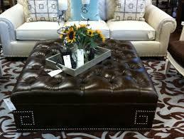 black leather ottoman coffee table u2013 coredesign interiors