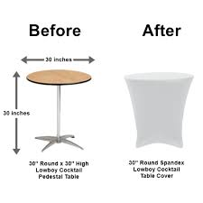 table cover rentals table cover rental spandex low cocktail los angeles