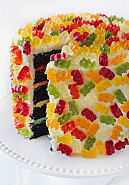 Gummy Bear Decorations Gummy Bear Layer Cake Probably The Most Perfect Cake I Could Make