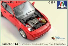 porsche 944 model kit italeri 3659 porsche 944 s 1 24 3659 hobby and leisure