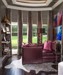 houston window treatments for large bedroom contemporary with