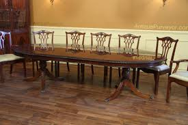 table knockout oval double pedestal dining table american made