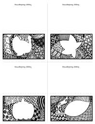 printable zen doodle thanksgiving placecards todaysmama