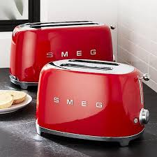 Blue 4 Slice Toaster Smeg Appliances Retro Toaster 2 Or 4 Slice Blue Cream Black