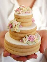 Wedding Cake Cookies Tiered Cookie Cakes As Wedding Cake Alternative Poptastic Bride