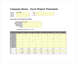 Excel Timesheet Template With Formulas Timesheet Template 29 Free Word Excel Pdf Documents