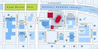Dart Dallas Map Directions U0026 Parking The Dallas Opera