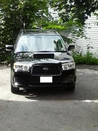 black subaru fs for sale 2007 forester xt limited 5sp manual black