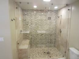 Stall Shower Door Bathroom Fascinating Shower Kits Lowes To Express Your Style
