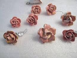 porcelain chandelier roses capo di monte antique price guide