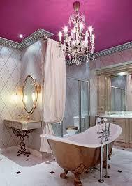 great large mirror in bathroom