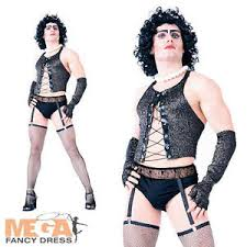 Rocky Horror Halloween Costume Frank Furter Rocky Horror Show Mens Fancy Dress Halloween
