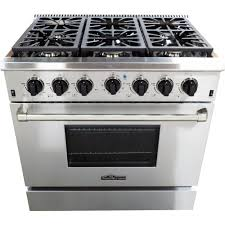 thor kitchen gas ranges ranges the home depot