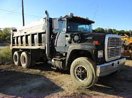 1988 ford l9000 dump truck item e7412 sold november 14
