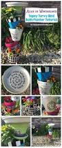 Flower Pot Bird Bath - best 25 bird bath planter ideas only on pinterest succulents